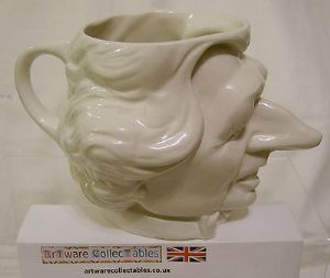 Carlton Ware Spitting Image Fluck & Law Margaret Thatcher Milk Jug - NEW LOW PRICE - SOLD
